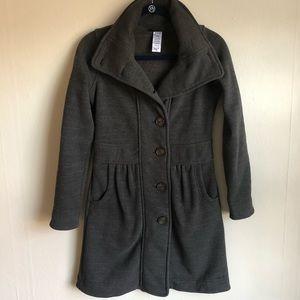 Patagonia Pea Coat Jacket Gray XS S